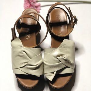 Seychelles leather wedges
